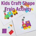 Kids Craft Train Activity