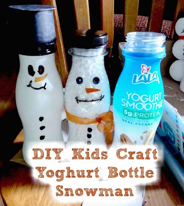 DIY Upcycled Snowman