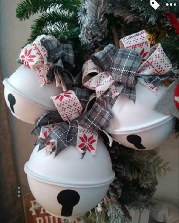 DIY Giant Christmas Bell – Bowl Hack