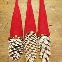 DIY Pinecone Gnomes