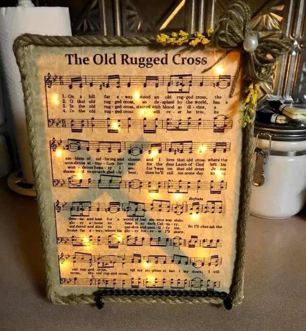 Light Up Religious Hymn Home Decor