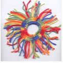 Crochet Pattern - Fringe Scrunchie