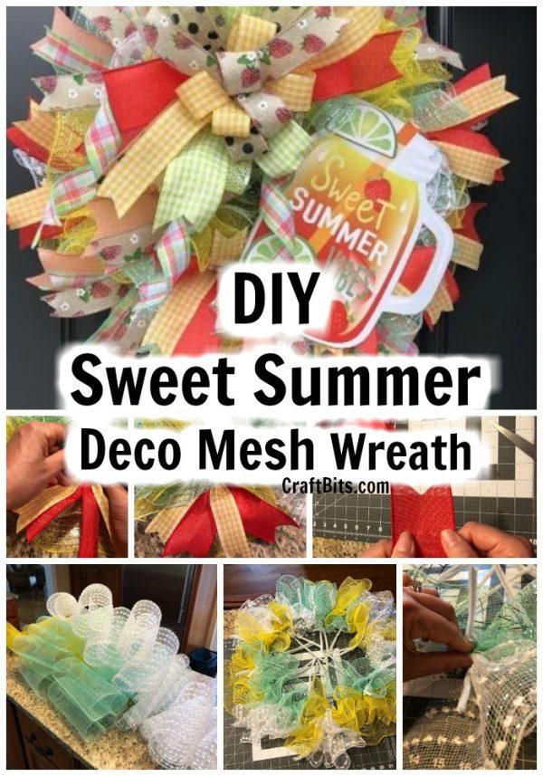 DIY Sweet Summer Wreath
