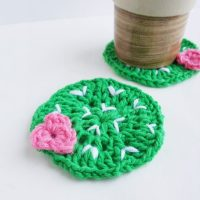 Crochet Pattern - Cactus Plant Lady Coasters