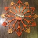 Dollar Tree Fall Coat Hanger Wreath