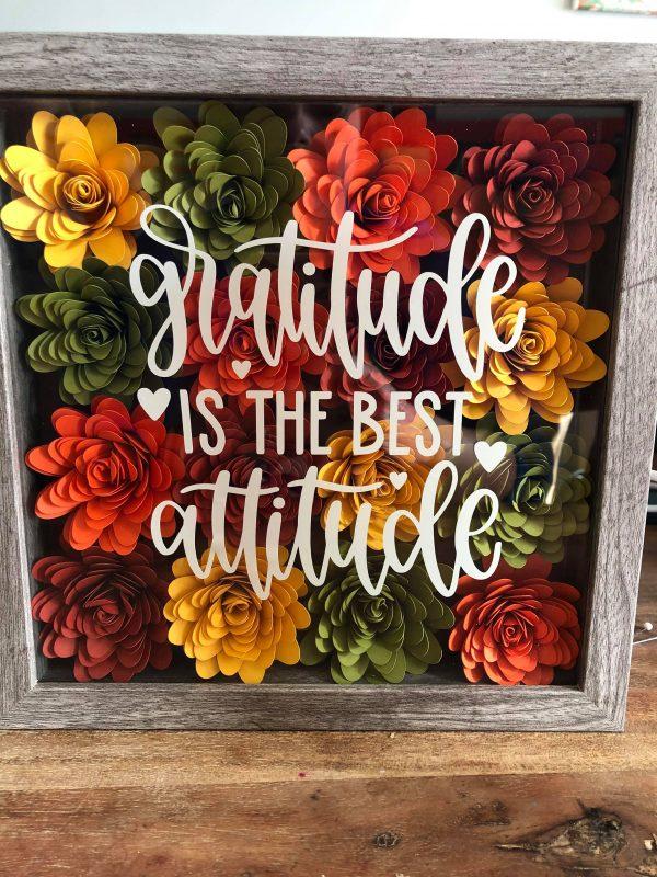 Gratitude Flower Box