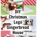 Christmas Lego Gingerbread House