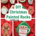 Christmas Treats Painted Rocks