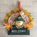 Dollar Tree Fall Scarecrow Wreath