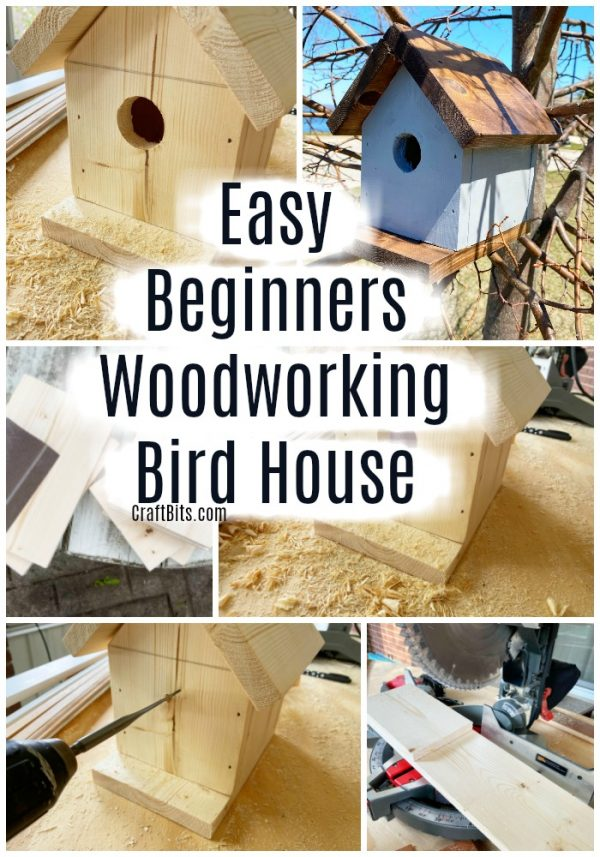Beginners Easy Woodworking Bird House