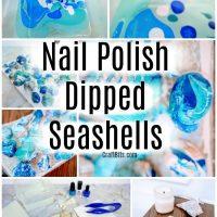 Nail Polish Seashells