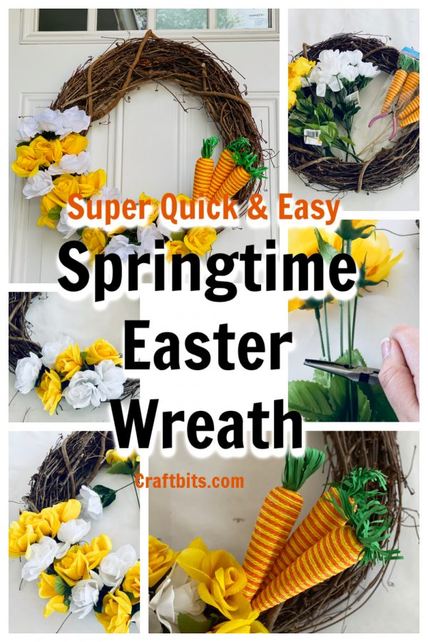 Spring Time 10 Minute Easter Wreath
