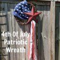 4th Of July Patriotic Flag Wreath