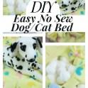 No Sew Dog Bed