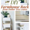 Dollar Tree Farmhouse Kitchen Stand