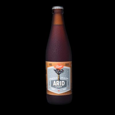 Boston Breweries Arid Light Craft Beer 2% ABV