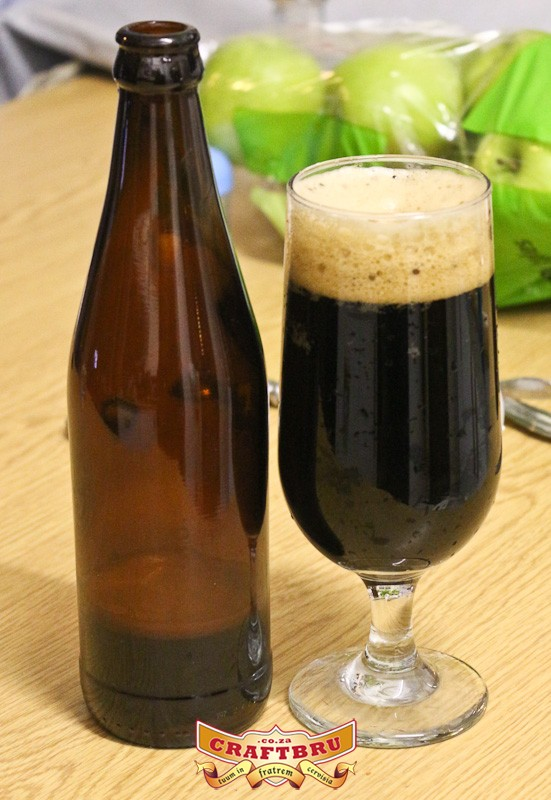 My first all-grain brew. A Robust Porter.