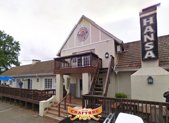 As seen on Google Streetview - Old Main Brewery in Hilton, Pietermaritzburg previously the Crossways Country Pub