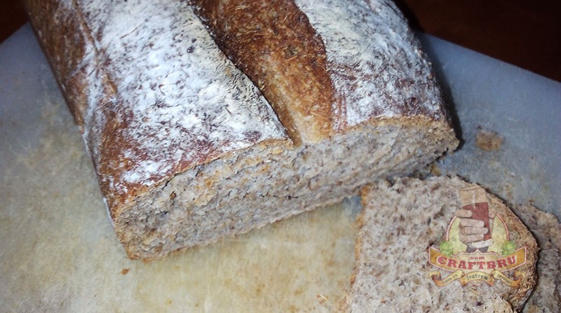 Spent Grain Whole Meal Bread Recipe