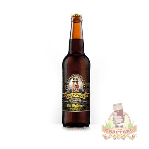 The Dogfather, a winter beer from Besset Breweries Steam Punk Range - 8% ABV