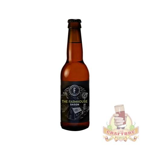 The Farmhouse Saison by Frontier Beer from Pretoria, Gauteng