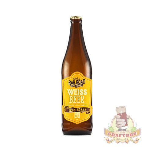 Weiss Beer by Great Railroad Brewing Company, KwaZulu-Natal, South Africa