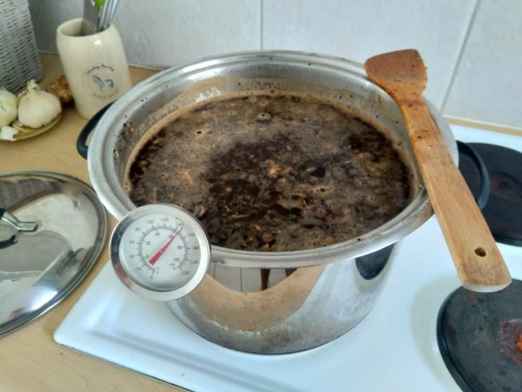 Brew kettle slash mash tun slash stew pot.