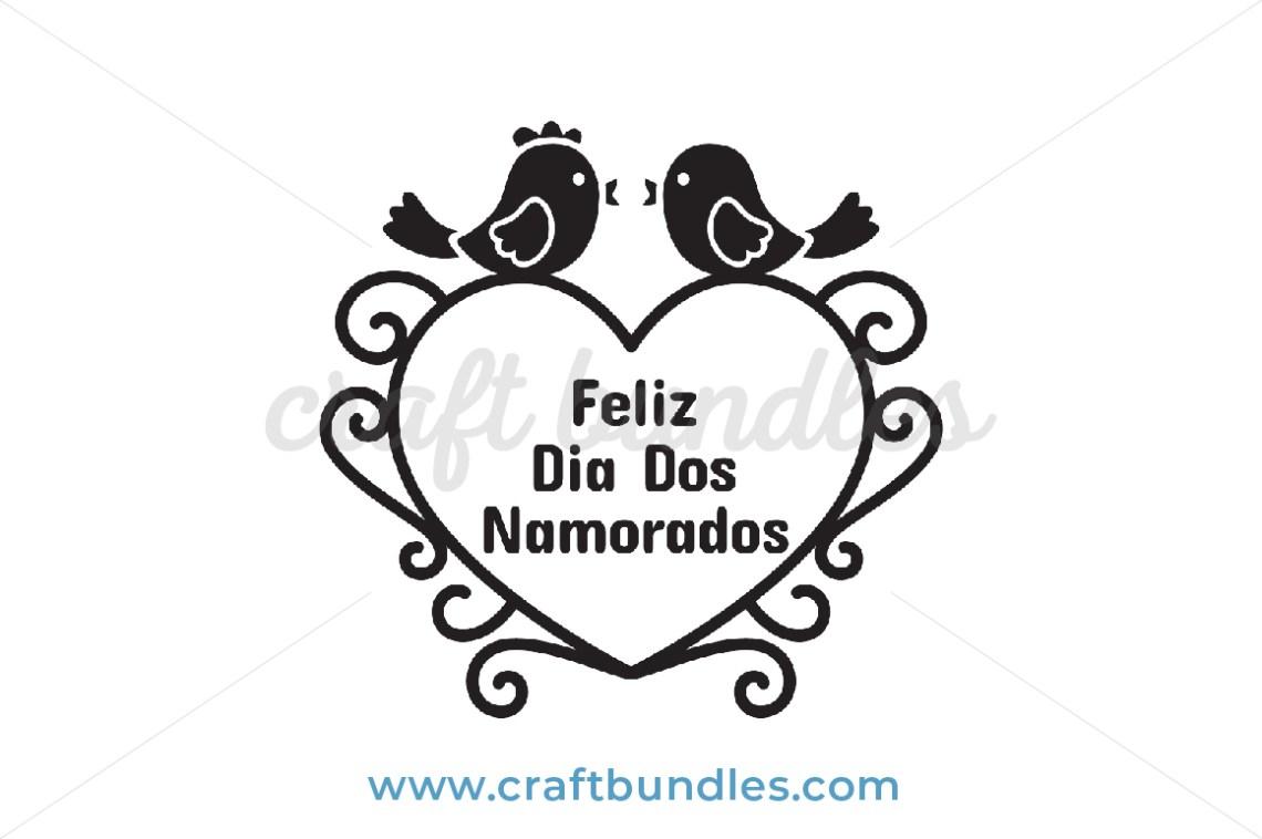 Download Valentine Love Birds SVG Cut File - CraftBundles