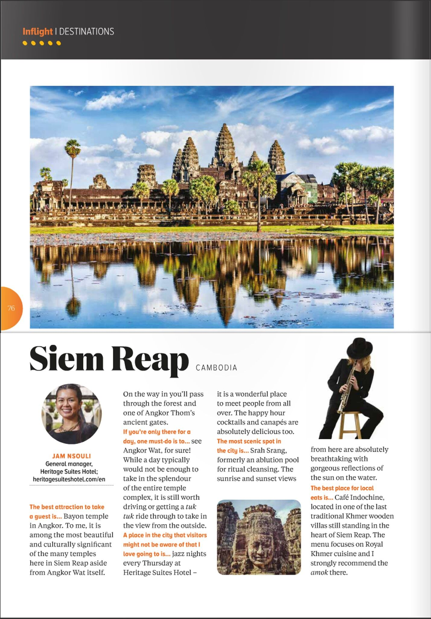 Heritage Suites Hotel luxury travel pr case study media coverage - Jetstar Asia inflight magazine