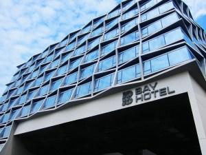 Bay Hotel Singapore - facade