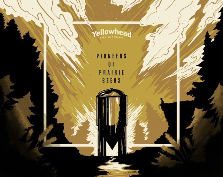 Yellowhead Tasting Room illustration by Pete Nguyen