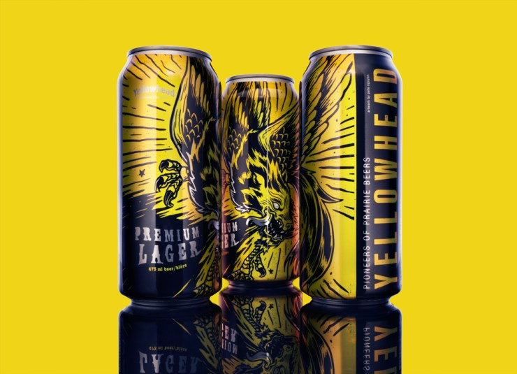 Yellowhead Lager, illustration by Pete Nguyen, Photography by Adrien Veczan