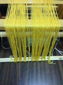 Warping-the-loom