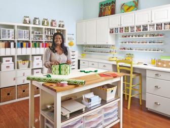 dream craft room organisation