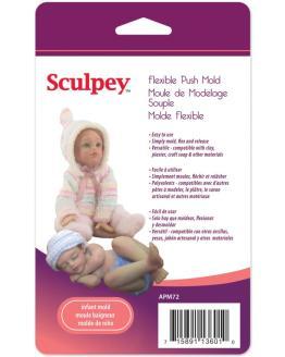 sculpey mould infant APM72