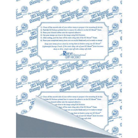 EZMount cling foam sheet