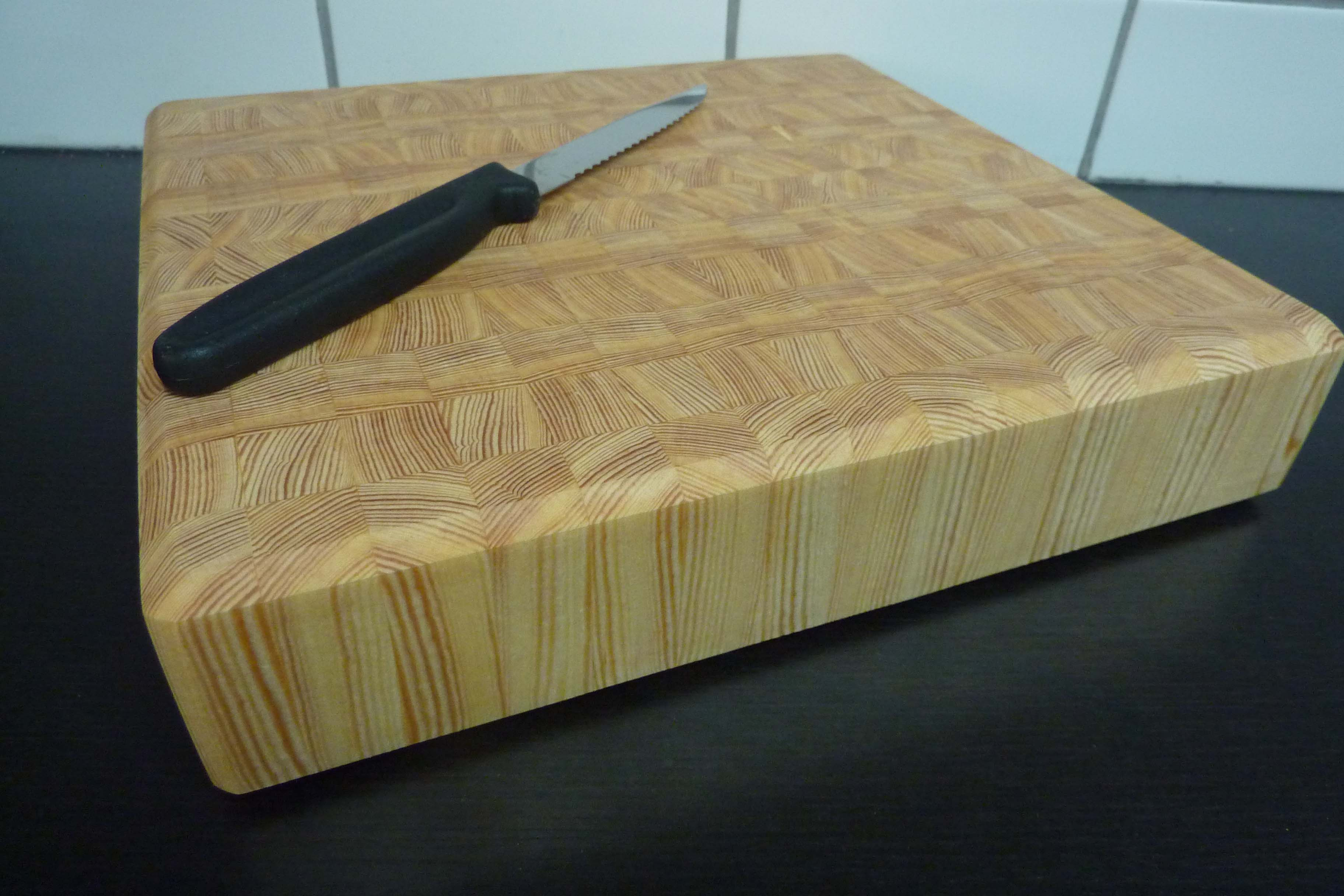 Birch End Grain Cutting Board