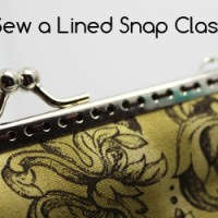 How to Sew a Lined Coin Purse