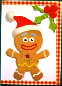 Cards Gingerbread Man