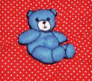 Squeaker-tummy Bear