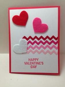 3 hearts zig zag lines