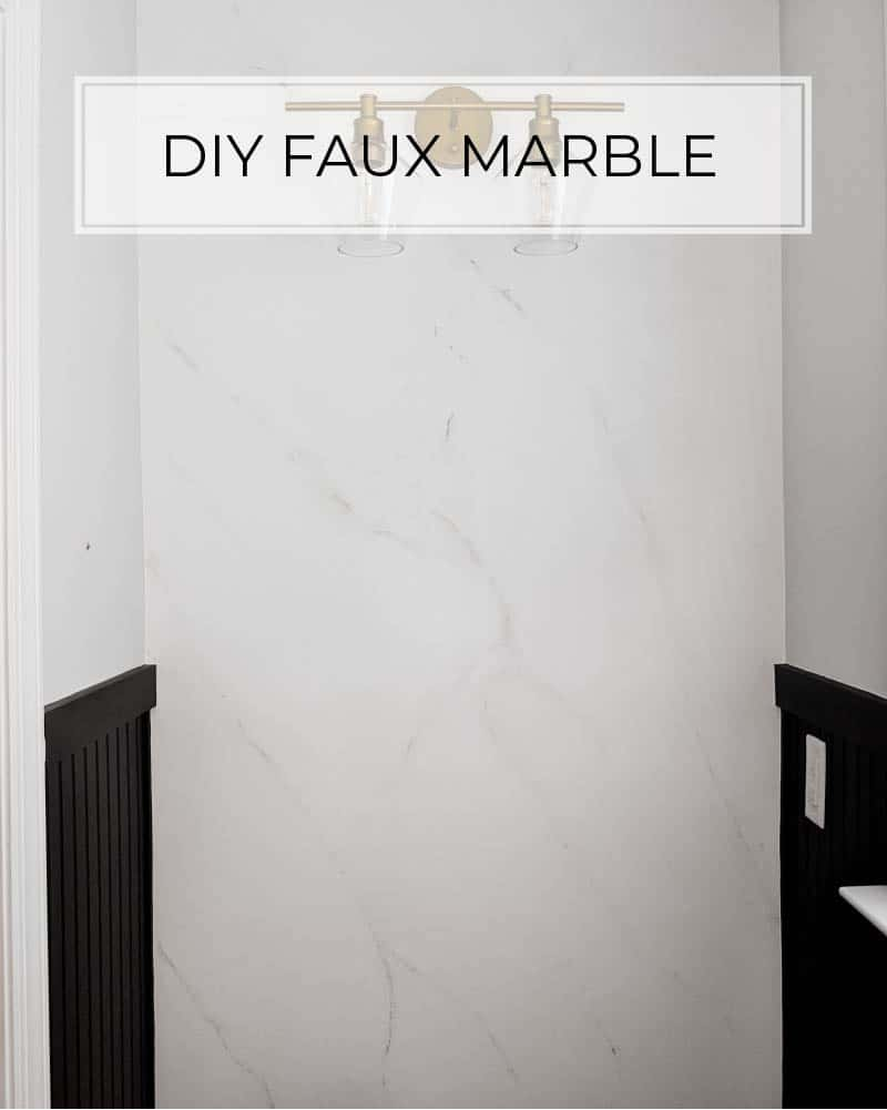 how to imitate marble with paint faux