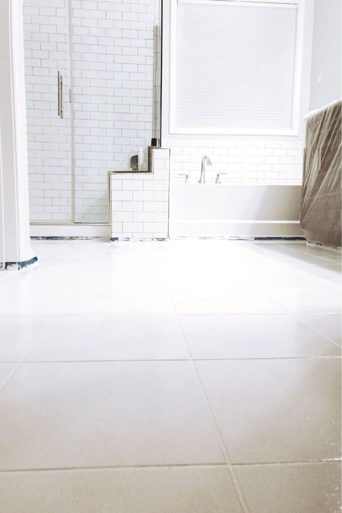 how to paint tile floors so they last