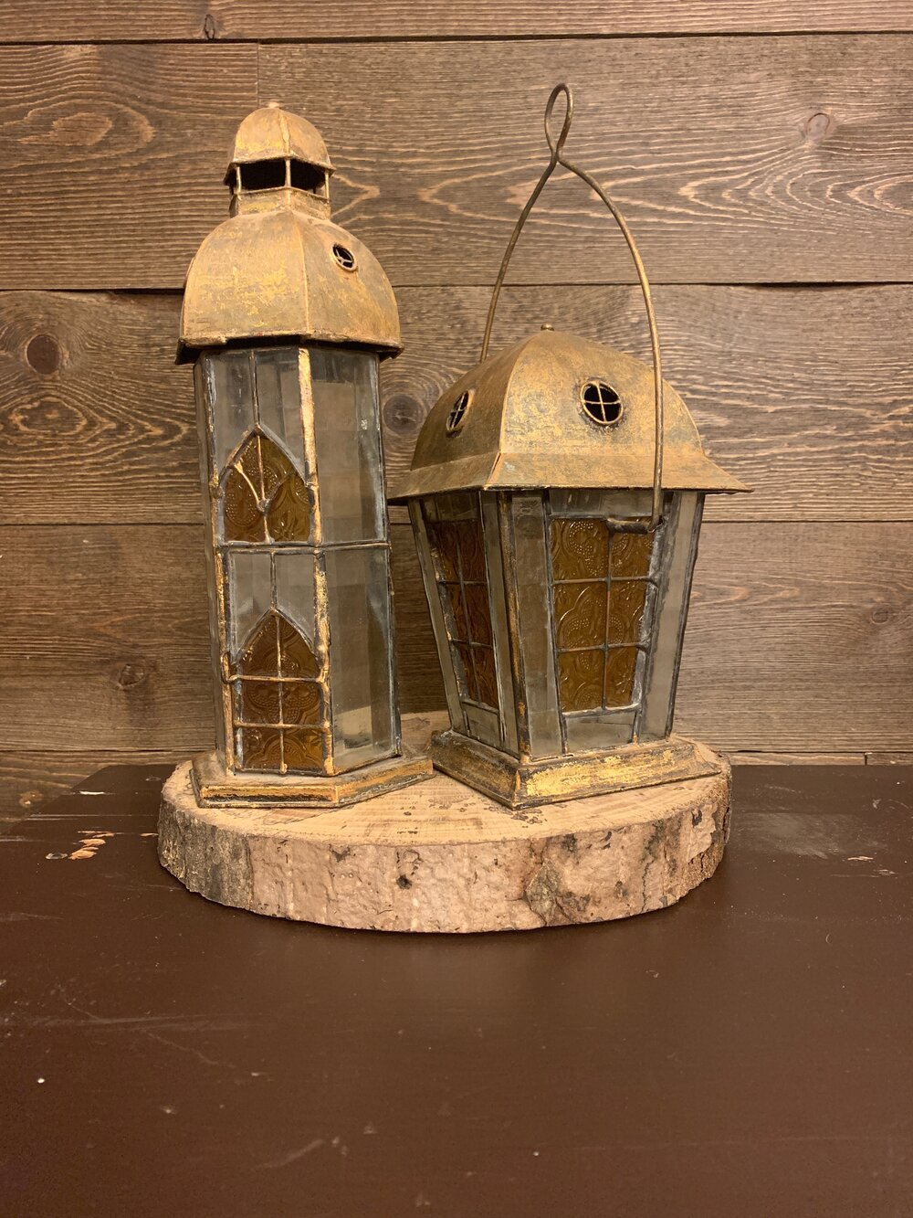 Gold Antique Lantern (tall)