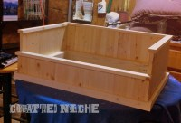 how to build a raised wooden dog bed | colorful89hly