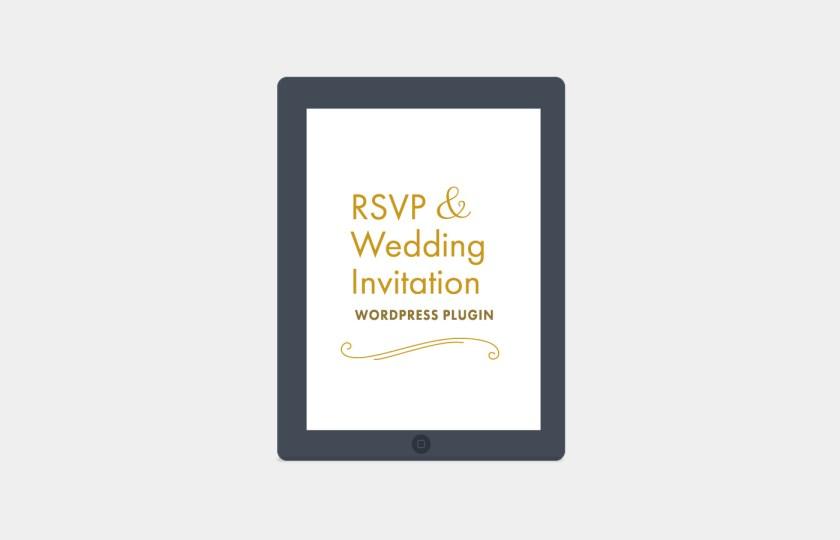 Rsvp And Wedding Invitation WordPress Plugin