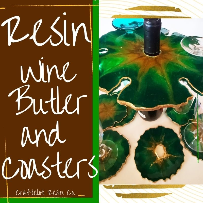 Resin Butler and Coasters Tutorial