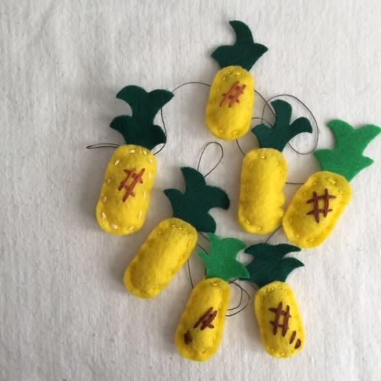 pineapple felties.