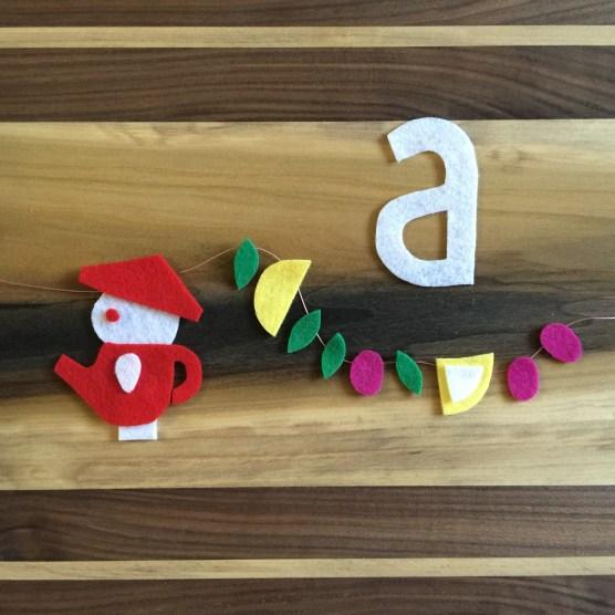 A is for Asha Tea House.