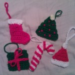 Christmas Tree Ornament Crochet Pattern Crafterchick Free Crochet Patterns And Projects